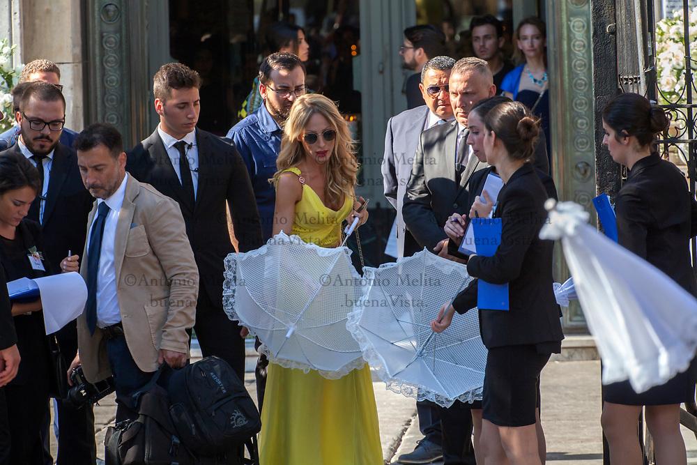 Silvia Slitti, moglie del bomber Giampaolo Pazzini, è la wedding planner del matrimonio tra Andrea Belotti e Giorgia Duro.