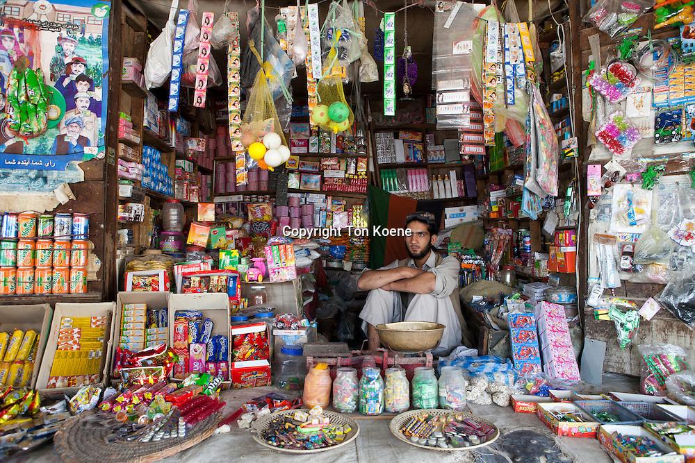 Kunduz bazaar, Afghanistan