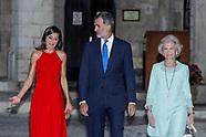 080719 Spanish royals civil authorities reception