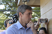 August 16, 2019 Democratic Presidential candidate Beto O'Rourke visits the Tienda Anita Mexican Grocery Store in Canton Mississippi on his first day back on the campaign trail after the El Paso mass shootings. O' Rourke picked Canton because the largest ICE raids ever to occur in the United States was conducted in Mississippi last week arresting 680 illegal immigrants. Beto spoke outside the Peco Food Plant, the site of one of the ICE raids with some immigrants affected by the raids, He also bought food from the Tienda Anita Grocery store to be passed out to the local community. O'Rourke spoke to the media after meeting with the store owners and some immigrants, he said if we don't wake up to the threat from all the Trump rhetoric then we will die in our sleep. Some immigrants did not want to be identified they were afraid and worried about retribution. Photo ©Suzi Altman hashtag#BetoORourke hashtag#PresidentialCandidate hashtag#democrate hashtag#photojournalism hashtag#Mississippi hashtag#ICE hashtag#raids hashtag#immigration