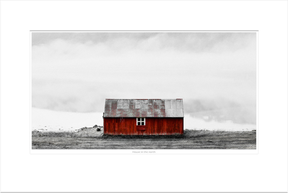 &quot;House in the North&quot;<br /> Format: 60x40cm<br /> Print: Museum Etching<br /> Limited edition: 10