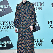 Lucan Gillespie arrivers Skate at Somerset House with Fortnum & Mason Launch party, London, Somerset House, 12 November 2019, London, UK.