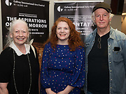 18/07/2018 repro free:  Actress Maire Mullen, Jen Coppinger producer and Sean McGinley actor   at the world premiere of Incantata by Paul Muldoon starring Stanley Townsend and directed by Sam Yates. Incantata is a Galway International Arts Festival and Jen Coppinger production and is now on at the Town Hall Theatre, Galway until Friday July 27as part of GIAF18. Incantata is a deeply moving rollercoaster ride of a show starring one of Ireland's leading actors.  Photo:Andrew Downes, XPOSURE