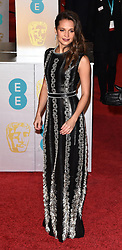 The EE British Academy Film Awards (BAFTA) 2016 at the Royal Opera House, Covent Garden, London on Sunday 14  February 2016