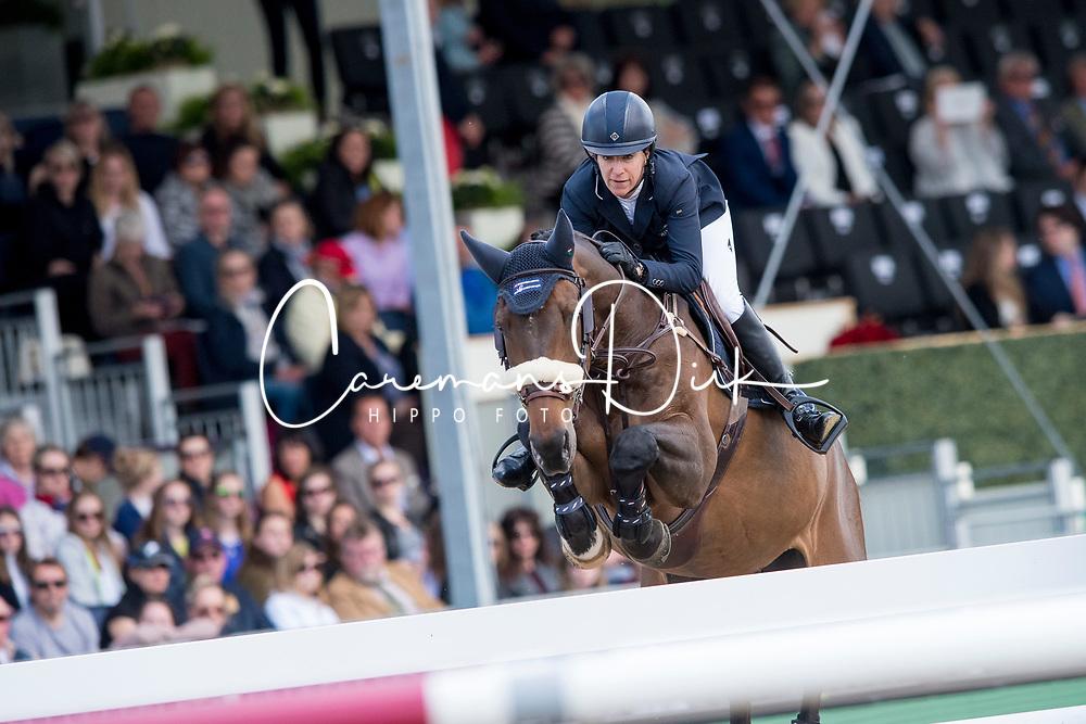 Kraut Laura, USA, Deauville<br /> Rolex Grand Prix Jumping<br /> Royal Windsor Horse Show<br /> &copy; Hippo Foto - Jon Stroud