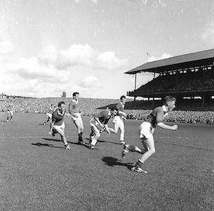 All Ireland Senior Football Final Down v. Offaly 24th September 1961..24.09.1961  24th September 1961