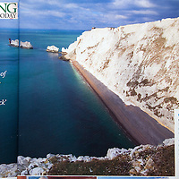 The Needles, Scratchells Bay, Isle of Wight, Sailing Today,