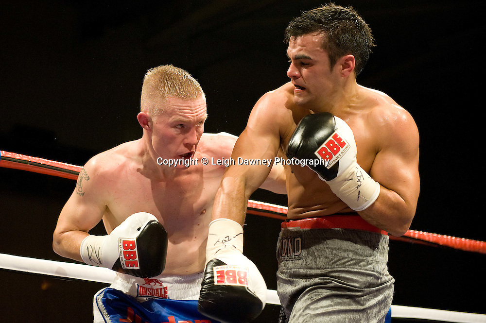 Martin Concepcion defeats Kevin Hammond at the Harvey Hadden Leisure Centre 5th February 2010 Frank Maloney Promotions.  Photo credit © Leigh Dawney