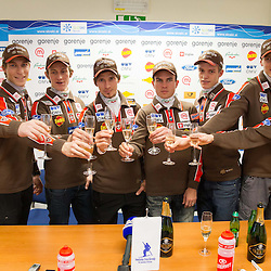 20130122: SLO, Nordic Ski - Press conference of Slovenian Ski jumping team