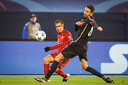Philipp Lahm #21 of FC Bayern Munchen during football match between GNK Dinamo Zagreb and Bayern München in Group F of Group Stage of UEFA Champions League 2015/16, on December 9, 2015 in Stadium Maksimir, Zagreb, Croatia. Photo by Ziga Zupan / Sportida
