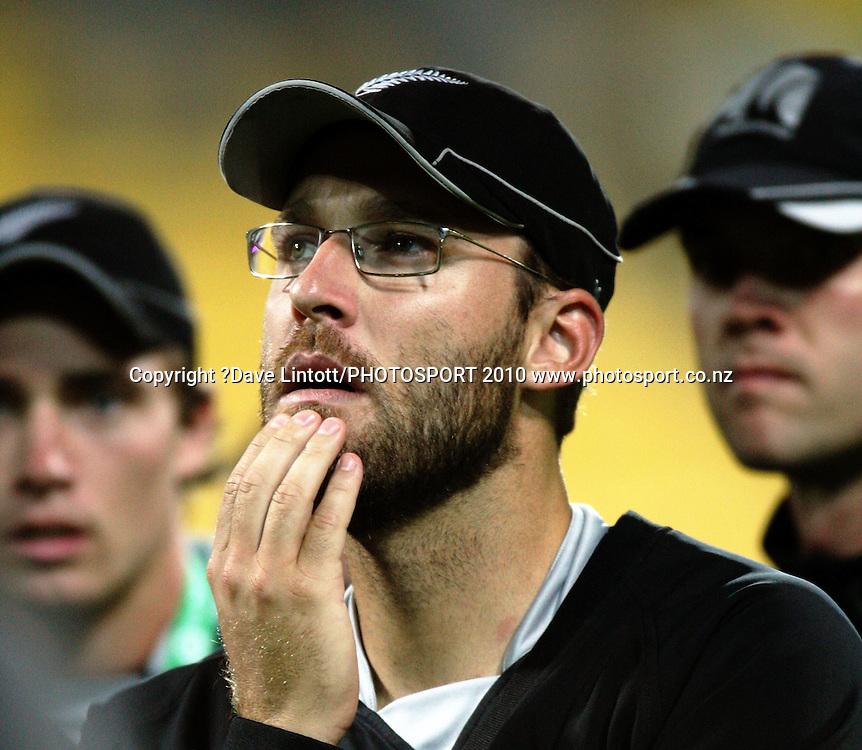 NZ captain Daniel Vettori.ppell-Hadlee Trophy one-day international cricket match - New Zealand v Australia at Westpac Stadium, Wellington. Saturday, 13 March 2010. Photo: Dave Lintott/PHOTOSPORT