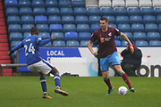 Murray Wallace Scunthorpe Defender during the EFL Sky Bet League 1 match between Oldham Athletic and Scunthorpe United at Boundary Park, Oldham, England on 28 October 2017. Photo by George Franks.