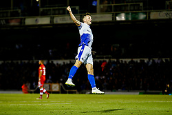 Ollie Clarke of Bristol Rovers celebrates scoring his sides second goal of the game  - Mandatory by-line: Ryan Hiscott/JMP - 14/08/2018 - FOOTBALL - Memorial Stadium - Bristol, England - Bristol Rovers v Crawley Town - Carabao Cup