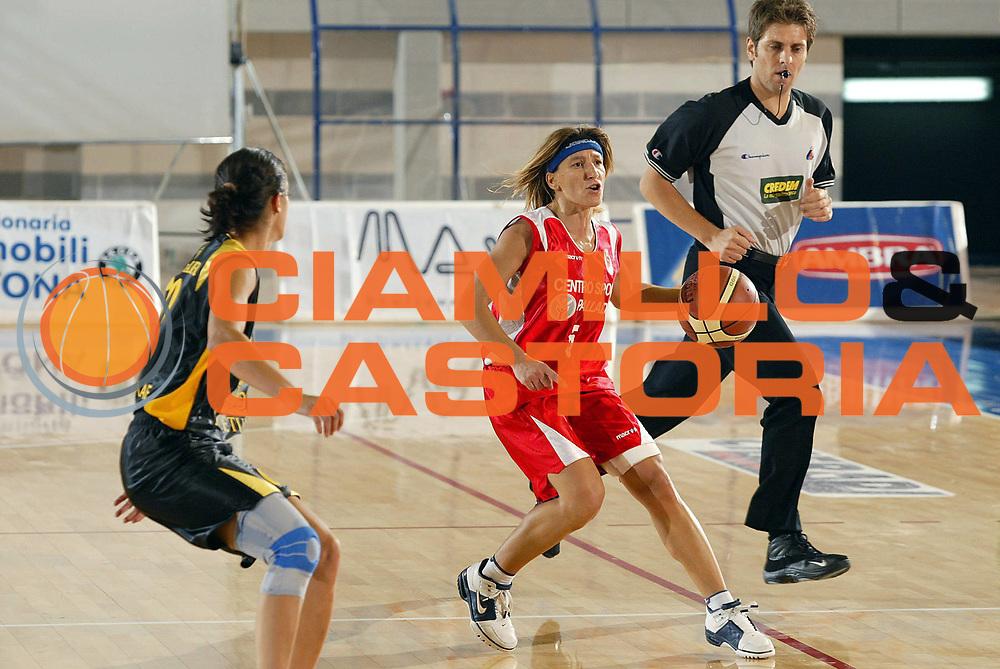 DESCRIZIONE : Taranto Campionato Italiano Donne A1 2005-2006 Acetum Cavezzo-Centro Sport Palladio Vicenza<br /> GIOCATORE : Maggadino<br /> SQUADRA : Centro Sport Palladio Vicenza<br /> EVENTO : Campionato Italiano Donne A1 2005-2006<br /> GARA : Acetum Cavezzo Centro Sport Palladio Vicenza<br /> DATA : 02/10/2005 <br /> CATEGORIA :<br /> SPORT : Pallacanestro <br /> AUTORE : Agenzia Ciamillo-Castoria