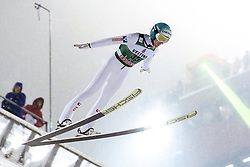 February 8, 2019 - Lahti, Finland - Michael Hayböck participates in FIS Ski Jumping World Cup Large Hill Individual training at Lahti Ski Games in Lahti, Finland on 8 February 2019. (Credit Image: © Antti Yrjonen/NurPhoto via ZUMA Press)