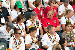 Opening ceremony, Team Belgium<br /> World Equestrian Games - Tryon 2018<br /> © Hippo Foto - Dirk Caremans<br /> 11/09/2018
