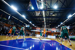 during basketball match between KK Zlatorog and KK Helios Suns in 4th match of Nova KBM Slovenian Champions League Final 2015/16 on June 5, 2016 in Dvorana Komunalnega centra, Domzale, Slovenia Photo by Grega Valancic / Sportida