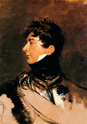 George IV King of Great Britain (from 1820 to 1830), depicted as Prince Regent, circa 1814. By Sir Thomas Lawrence (1769-1830), 1814