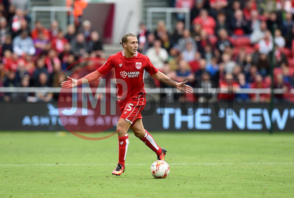 Luke Freeman of Bristol City  - Mandatory by-line: Joe Meredith/JMP - 20/08/2016 - FOOTBALL - Ashton Gate - Bristol, England - Bristol City v Newcastle United - Sky Bet Championship
