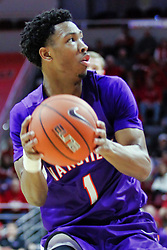 NORMAL, IL - January 05: Marty Hill during a college basketball game between the ISU Redbirds and the University of Evansville Purple Aces on January 05 2019 at Redbird Arena in Normal, IL. (Photo by Alan Look)