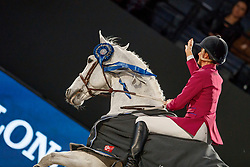 Diniz Luciana, POR, Winningmood<br /> LONGINES FEI World Cup™ Finals Paris 2018<br /> © Hippo Foto - Dirk Caremans<br /> 14/04/2018