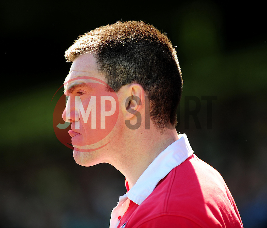 Sheffield United's Manger Chris Morgan - Photo mandatory by-line: Dougie Allward/JMP - Tel: Mobile: 07966 386802 06/05/2013 - SPORT - FOOTBALL - Huish Park - Yeovil - Yeovil Town V Sheffield United - NPOWER LEAGUE ONE PLAY-OFF SEMI-FINAL SECOND LEG