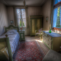 Bedroom in Hotel S in the Black Forest