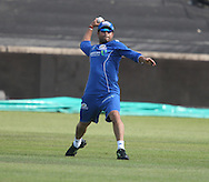 Ryan McLaren   during the Mumbai Indians training session held at Kingsmead Stadium in Durban on the 15 September 2010..Photo by: Steve Haag/SPORTZPICS/CLT20.