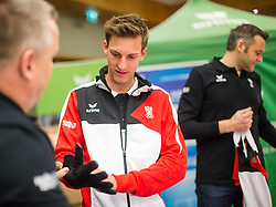 29.01.2014,  Marriott, Wien, AUT, Sochi 2014, Einkleidung OeOC, im Bild Gregor Schlierenzauer // Gregor Schlierenzauer during the outfitting of the Austrian National Olympic Committee for Sochi 2014 at the  Marriott in Vienna, Austria on 2014/01/29. EXPA Pictures © 2014, PhotoCredit: EXPA/ JFK