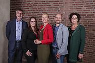 PROGRESSIEF ALTENA 2018<br /> (L-R) Kees de Waal, Rieka Verbeek, Paula Jorritsma, Christiaan Alderliesten, Anne-Wil Maris<br /> <br /> Foto: Geert van Erven