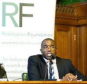 Resolution Foundation <br /> Sharing the spoils: bringing home ownership into reach for low to middle income households<br /> 20th November 2013 <br /> Houses of Parliament, Westminster, London, Great Britain <br /> <br /> David Lammy MP<br /> Vidhya Alakeson &ndash; Deputy Chief Executive, Resolution Foundation<br /> Richard Donnell &ndash; Director of Research, Hometrack<br /> Ben Marshall &ndash; Research Director, Ipsos Mori<br /> Geeta Nanda &ndash; Chief Executive, Thames Valley Housing Association<br /> Patrick Butler &ndash; Social Policy Editor, The Guardian (Chair)<br /> <br /> <br /> Photograph by Elliott Franks