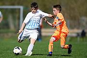 01.04.2017; Zuerich; Fussball Junioren - FCZ Uetliberg FE-13 - GC Limmattal - Donik Hasani (Zuerich)<br /> (Steffen Schmidt/freshfocus)