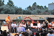 Israel, Shavuot celebration (End of Harvest season) at a Kibbutz