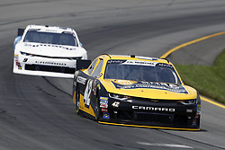 June 1, 2018 - Long Pond, Pennsylvania, United States of America - John Hunter Nemechek (42) brings his car through the turns during practice for the Pocono Green 250 at Pocono Raceway in Long Pond, Pennsylvania. (Credit Image: © Chris Owens Asp Inc/ASP via ZUMA Wire)