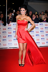 Chloe Sims at the National Television Awards held in London on Wednesday, 25th January 2012. Photo by: i-Images