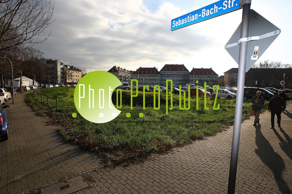 Ludwigshafen. 03.12.15 Neues GAG Baugel&auml;nde. Parallel zur Saarlandstra&szlig;e / Sebastian Bach Strasse <br /> <br /> Bild: Markus Pro&szlig;witz 03DEC15 / masterpress