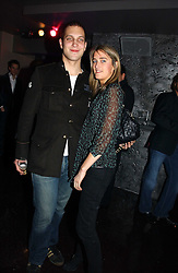 LORD FREDERICK WINDSOR and VIOLET VON WESTENHOLTZ  at a party to celebrate the opening of Kitts nightclub, 7-12 Sloane Square, London on 7th December 2006.<br /><br />NON EXCLUSIVE - WORLD RIGHTS