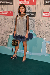Molly Moorish at the Fabulous Fund Fair in aid of Natalia Vodianova's Naked Heart Foundation in association with Luisaviaroma held at The Round House, Camden, London England. 18 February 2019.