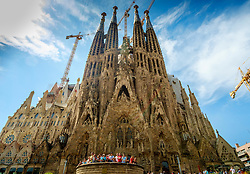 Sagrada Família, Barcelona, Catalonia, Spain<br /> <br /> (c) Andrew Wilson | Edinburgh Elite media