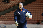 Coventry City goalkeeping coach Steve Ogrizovic during the Sky Bet League 1 match between Barnsley and Coventry City at Oakwell, Barnsley, England on 1 March 2016. Photo by Simon Davies.