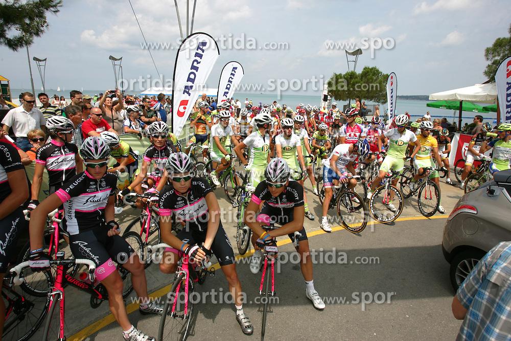 Team Radenska before 2nd Stage (189,6 km) at 18th Tour de Slovenie 2011, on June 17, 2011, in Koper, Slovenia. (Photo by Urban Urbanc / Sportida)