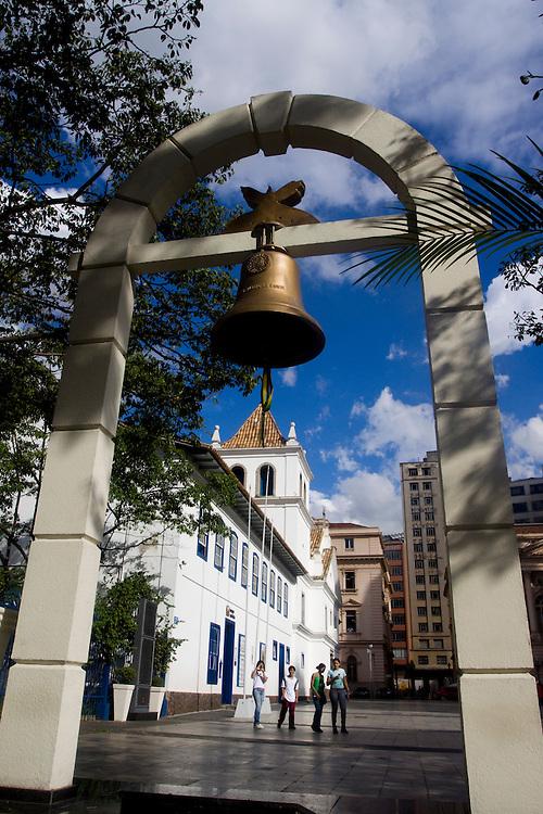 Sao Paulo_SP, Brasil...O Museu Anchieta esta localizado na praca do Patio do Colegio, no centro de Sao Paulo...The Anchieta museum is located in the Patio do Colegio square, in Sao Paulo downtown...Foto: MARCUS DESIMONI /  NITRO