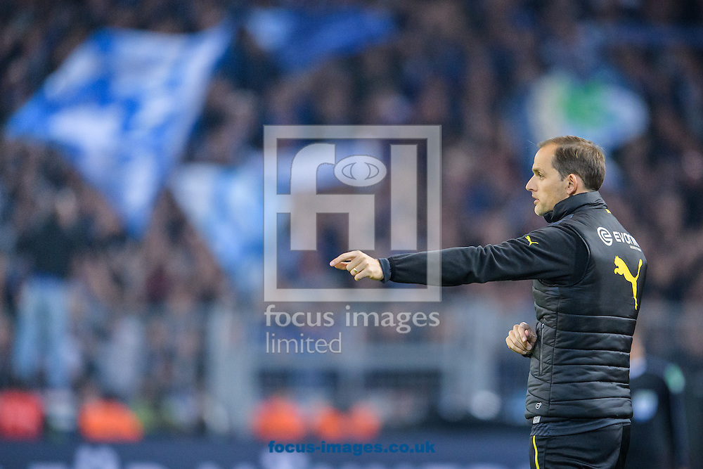 Thomas Tuchel, head coach of Borussia Dortmund during the Bundesliga match at Signal Iduna Park, Dortmund<br /> Picture by EXPA Pictures/Focus Images Ltd 07814482222<br /> 29/10/2016<br /> *** UK &amp; IRELAND ONLY ***<br /> EXPA-EIB-161030-0021.jpg