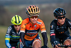 Rider of Boels Dolmans Cycling Team (NED) on the VAM-berg during the UCI Women's WorldTour Ronde van Drenthe at Drenthe, The Netherlands, 11 March 2017. Photo by Pim Nijland / PelotonPhotos.com | All photos usage must carry mandatory copyright credit (Peloton Photos | Pim Nijland)