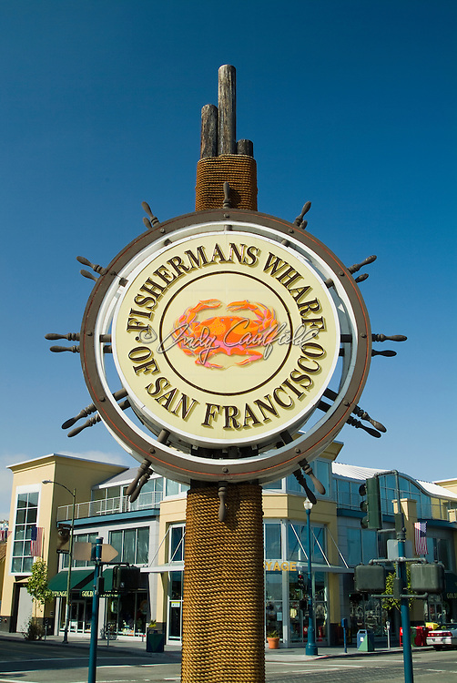 Fishermans Wharf signage-San Francisco, CA