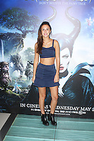 Lucy Watson, Celebrity Screening of Maleficent, Odeon Leicester Square, London UK, 25 May 2014, Photo by Brett D. Cove