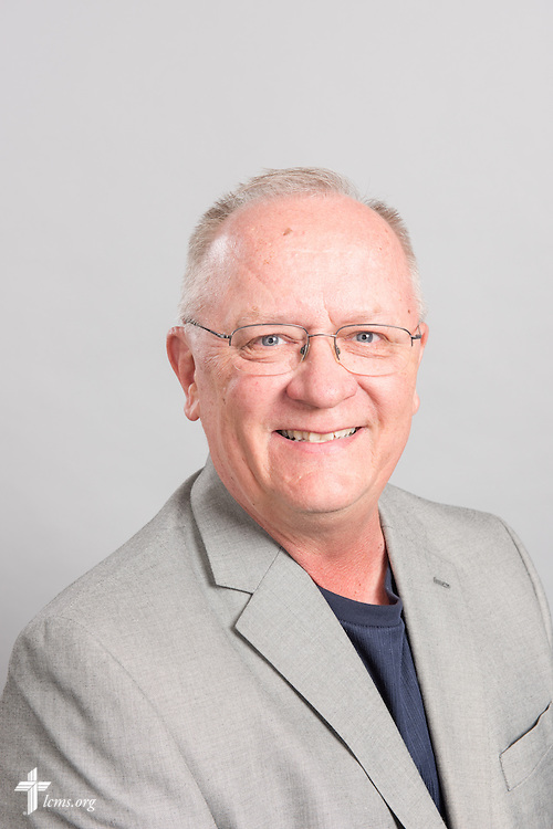 Headshot photograph of Chaplain Eric Erkkinen at the International Center of The Lutheran Church–Missouri Synod studio on Monday, March 30, 2015. LCMS Communications/Erik M. Lunsford
