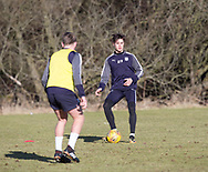 Jesse Curran of Dundee - Dundee FC training , Picture by David Young -