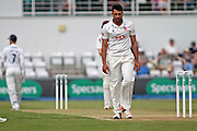 Essex all rounder Ravi Bopara during the Specsavers County Champ Div 2 match between Northamptonshire County Cricket Club and Essex County Cricket Club at the County Ground, Wantage Road, Abingdon, United Kingdom on 28 May 2016. Photo by Nigel Cole.
