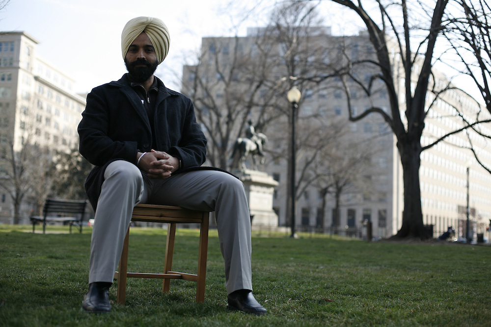Washington, Feb. 25, 2008 - C.J. Singh, Sterling, Va., IT Consultant